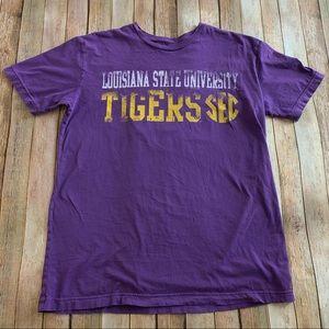 Louisiana State University graphic tee shirt
